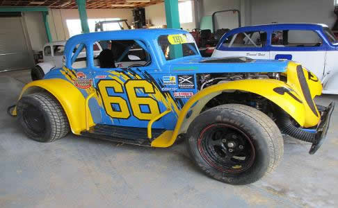 Legend Cars - Spare parts and service